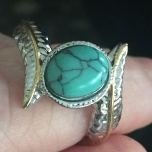 Wrap Look Ring - size 8 1/2